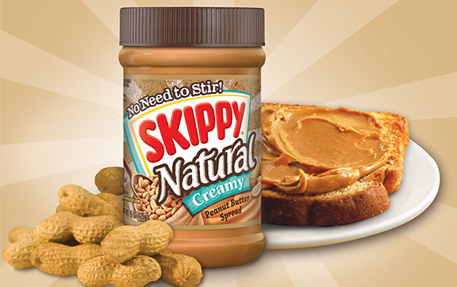 Dip into SKIPPY® Natural Creamy!