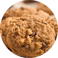 Best Ever Peanut Butter Oatmeal Cookies